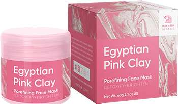 Маска Egyptian Pink Clay.